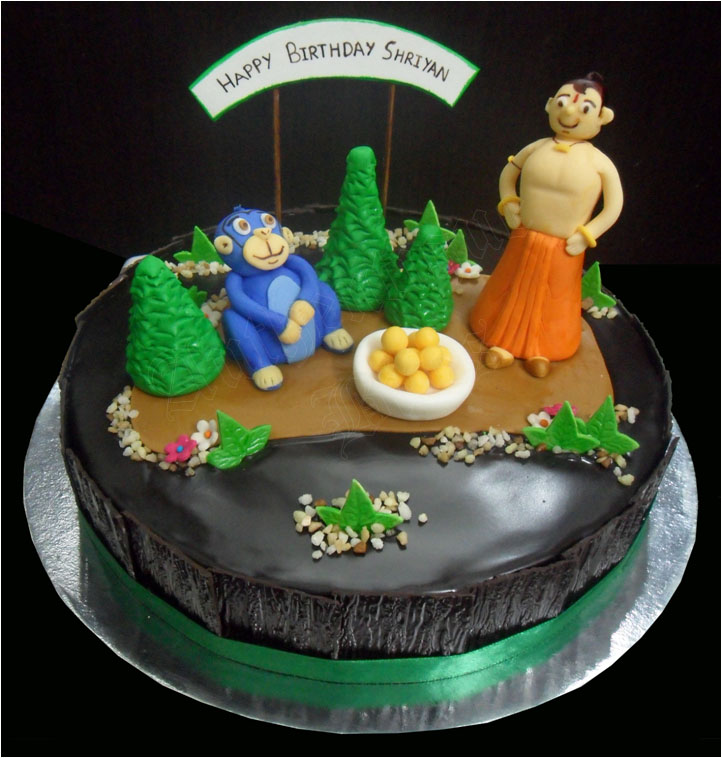 Cartoons Videos: Chhota Bheem cartoon, birthday party cakes