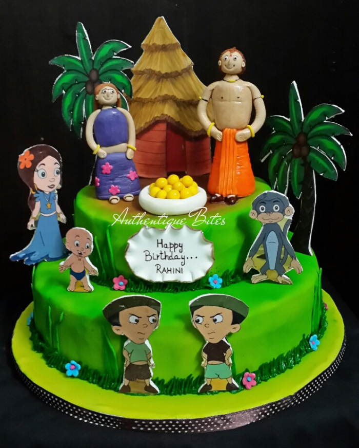 Birthday Cake Images Chota Bheem ~ Order wedding cakes d designer in delhi