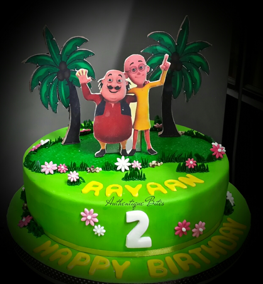 Cake Of Motu Patlu : Order Wedding Cakes,3D /4D Designer cakes in Delhi ...