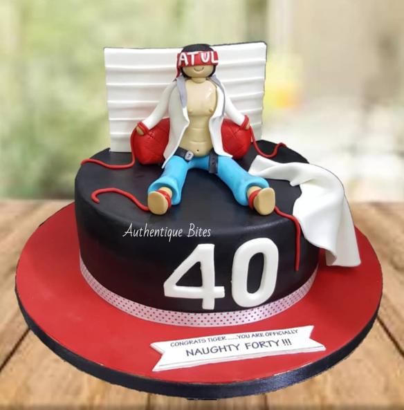 NFFC01 Strangled At 40 Cake